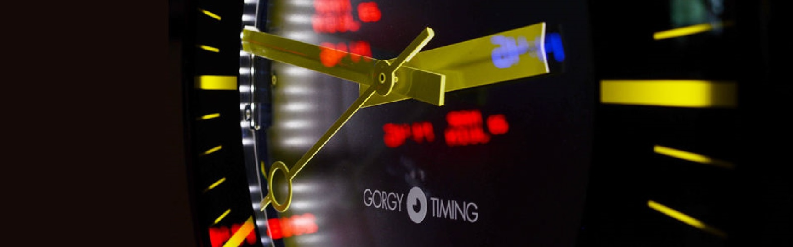 Gorgy Timing Clock Display